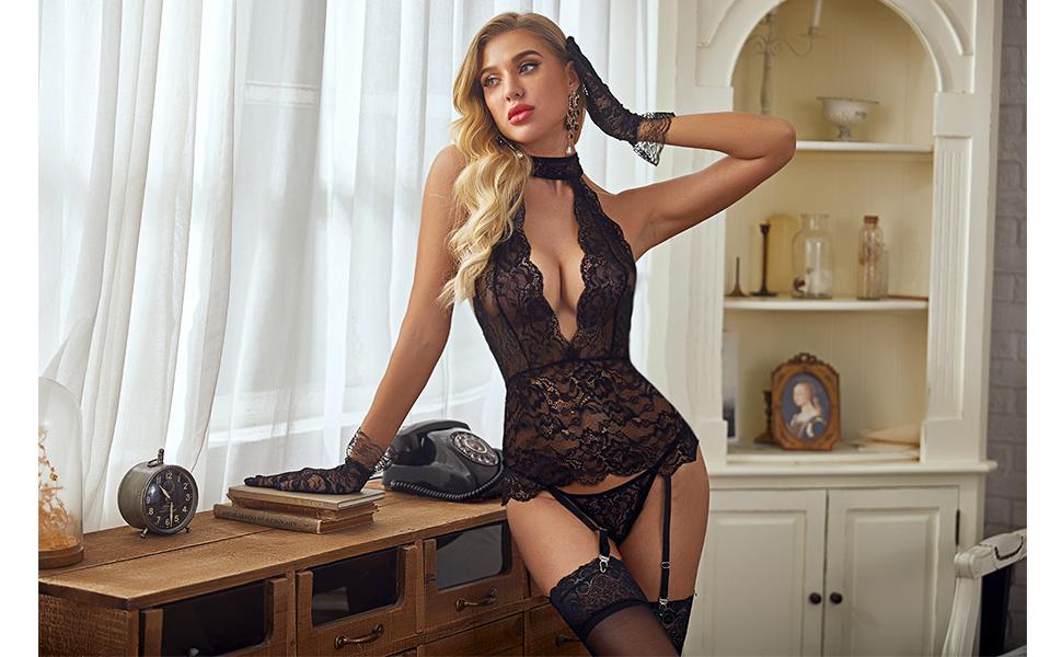 two piece lingerie