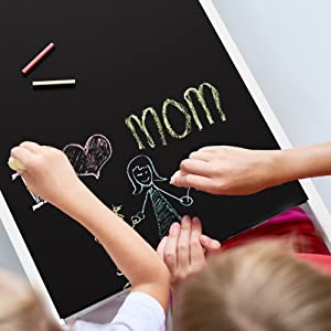 toddler chalk board desk and helper kitchen tower for learning