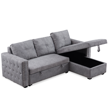 sectional sleeper sofa with pull out bed