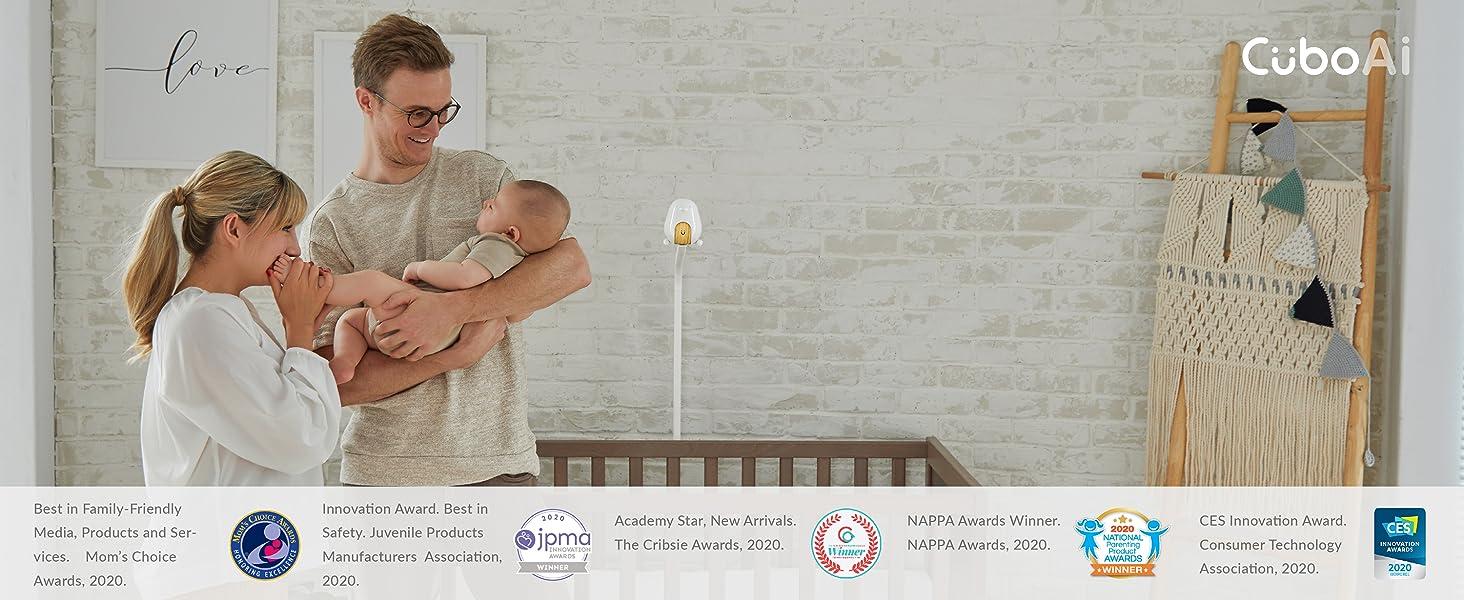 cubo ai plus smart baby monitor