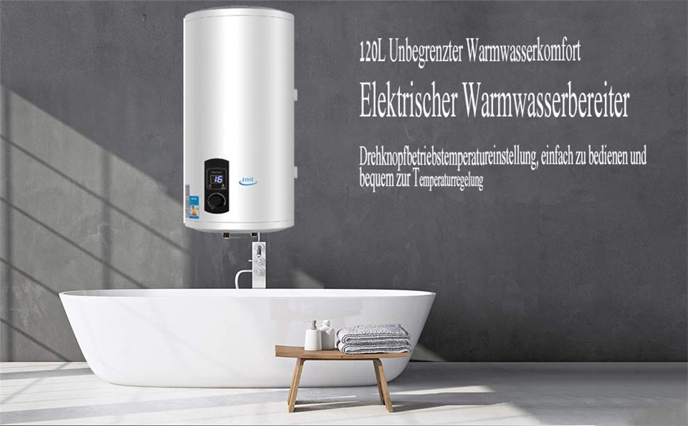 Warmwasserspeicher 120 Liter