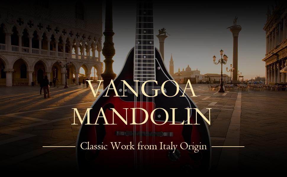 a style mandolin