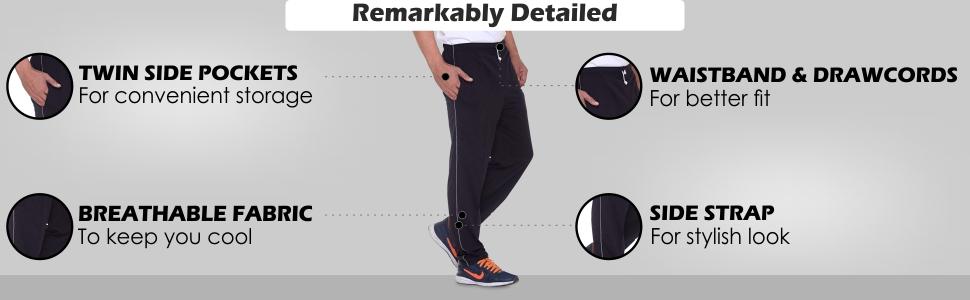 VIMAL Cotton Blended Men's Trackpants(Pack of 2)
