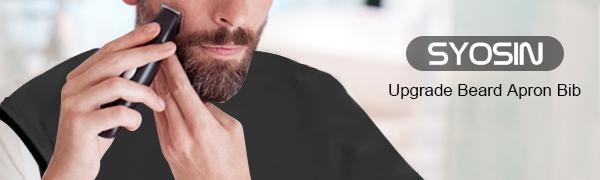 Delantal de Barba para Afeitar y Recortar con 4 Ventosa y Delantal ...