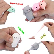animal squishies mochi squeeze toys