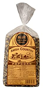 Blue Popcorn Kernels Amish Country Old Fashioned Microwave Stovetop