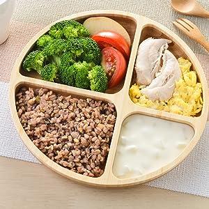 Round Diet Plate