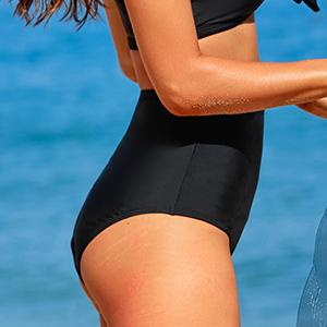tummy control bikini bottom