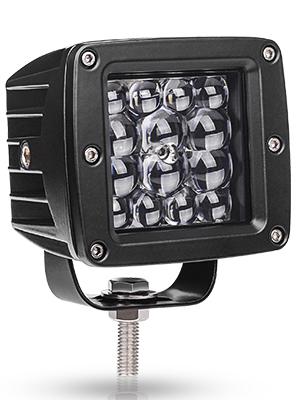 "Details about  /10X 3/"" 24W LED Work Fog Light Cube Pods Spot Bumper Truck Tractor 16W18W27W48W"