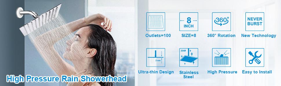 Nearmoon shower head