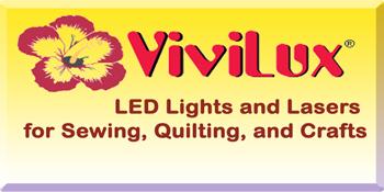 ViviLux LED Lights Laser Sewing Quilting Craft Lighting
