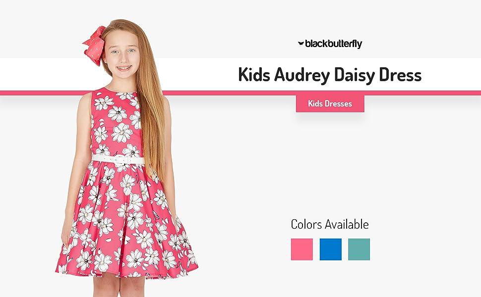 Kids Audrey Daisy Dress