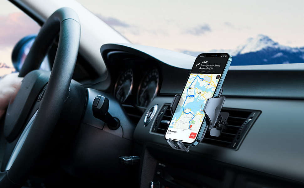 cell phone car mount vent