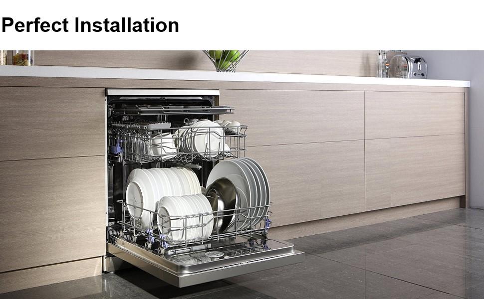 W10350375 & W10195840 & W10195839 & W10508950 Dishwasher Rack Adjuster Kit Fits Whirlpool