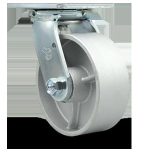 Service Caster, semi steel cast iron wheel
