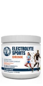 electrolyte sports drink powder one pack
