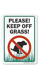"""Please Keep Off Grass!"""