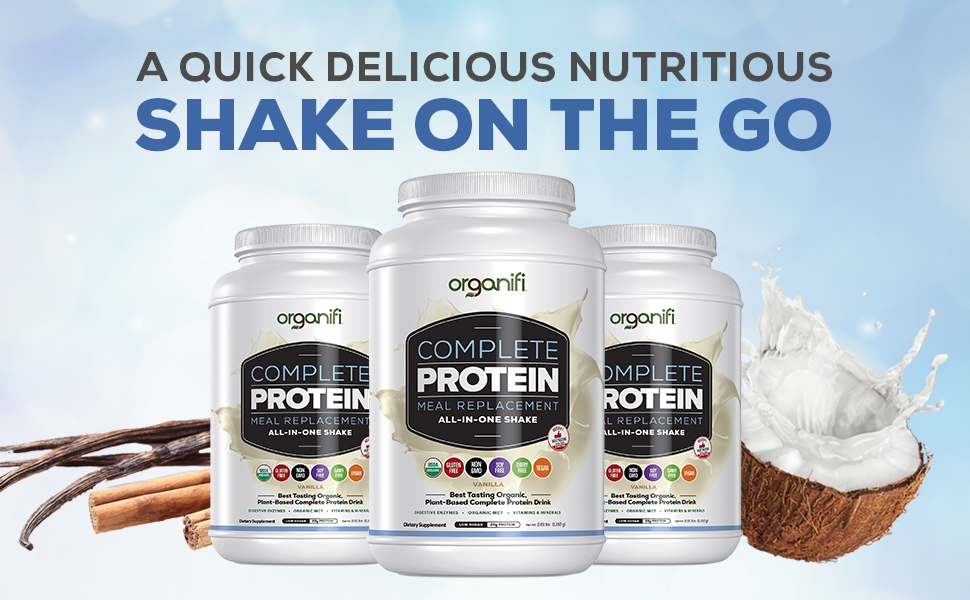 Organifi Protein Vanilla