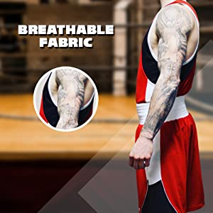 Breathable Fabric For Added Comfort