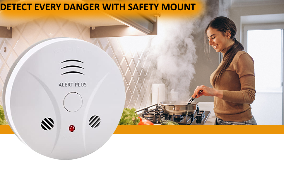 smoke and carbon detector