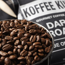Koffee Kult French Roast Dark Roast Coffee 100% Arabica Beans