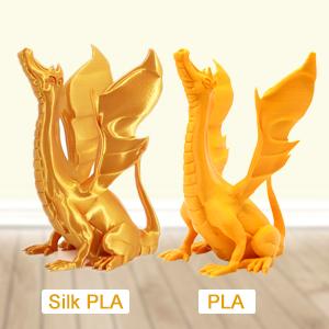 PLA vs PLA Silk