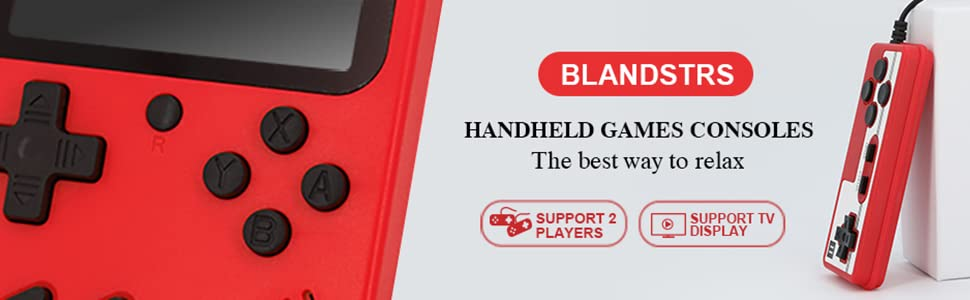 BLANDSTRS GAME CONSOLE