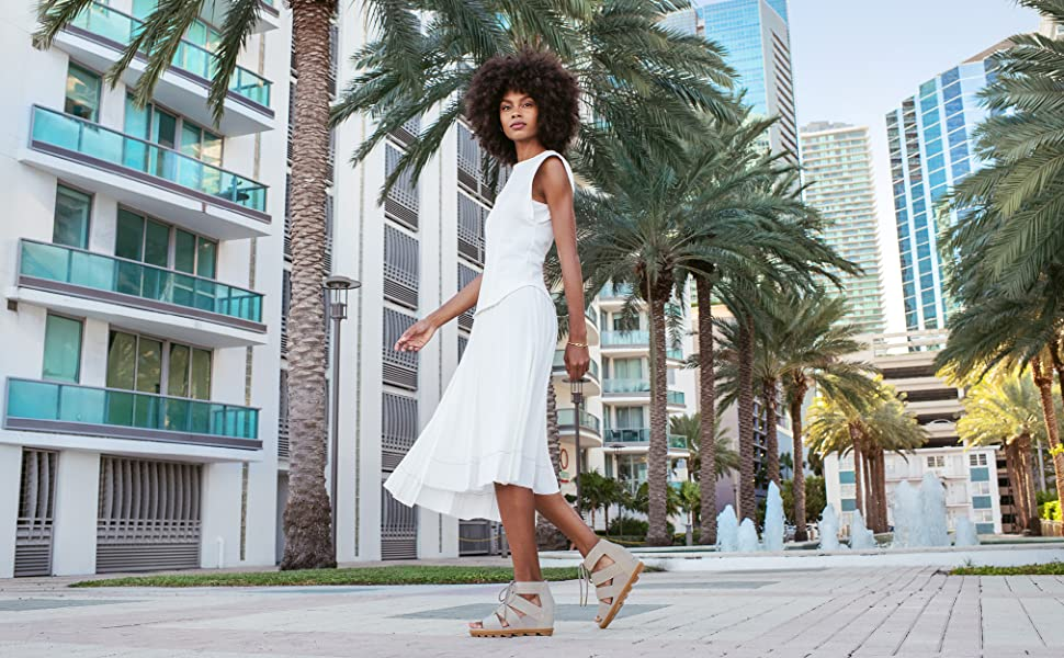 Joanie II Lace, Leather or Suede Sandal