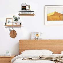 Floating Shelves for Bedroom