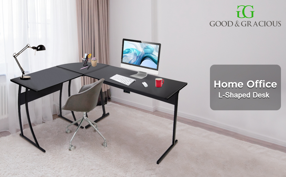 home office cheap computer gaming desk, modern office desk, two person work study desk workstation