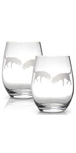 Labrador Retriever - wine