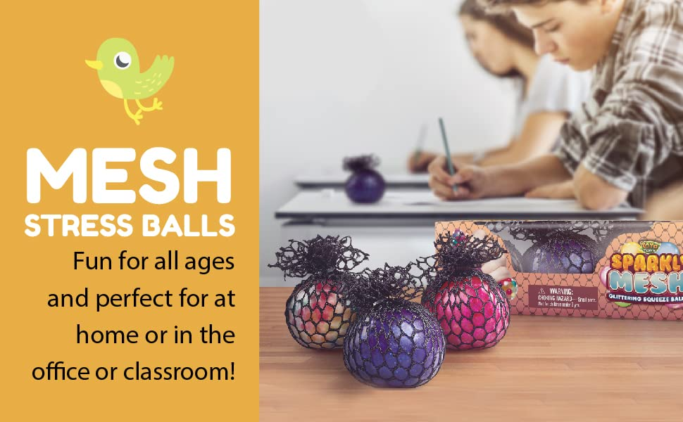 Mess Stress Balls. Fun for all ages and perfect for at home or in the office or classroom!