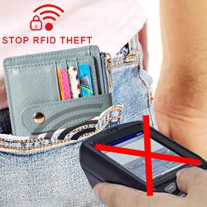 Rfid mens wallet