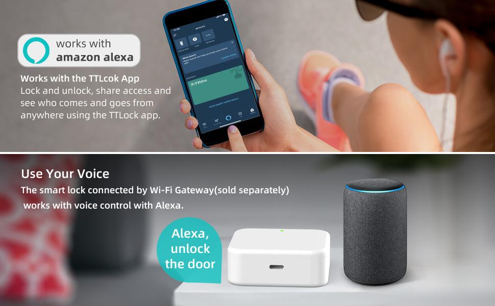 Bluetooth Smart Locks Work with Alexa