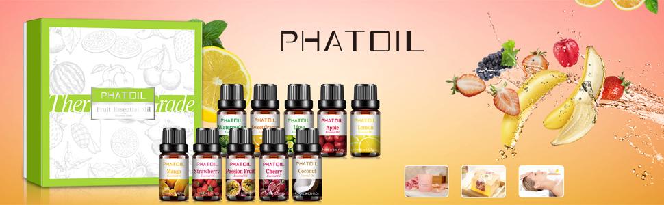 PHATOIL Eseential Oils Set