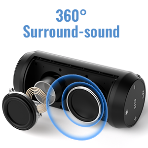 3333  ELEHOT Bluetooth Speaker Portable Wireless with Lights, Stereo Loud Volume, TWS Dual Pairing Speaker with Subwoofer Outdoor 1 PC c12ee1be 97a2 4da7 aec0 09ea03e389fc