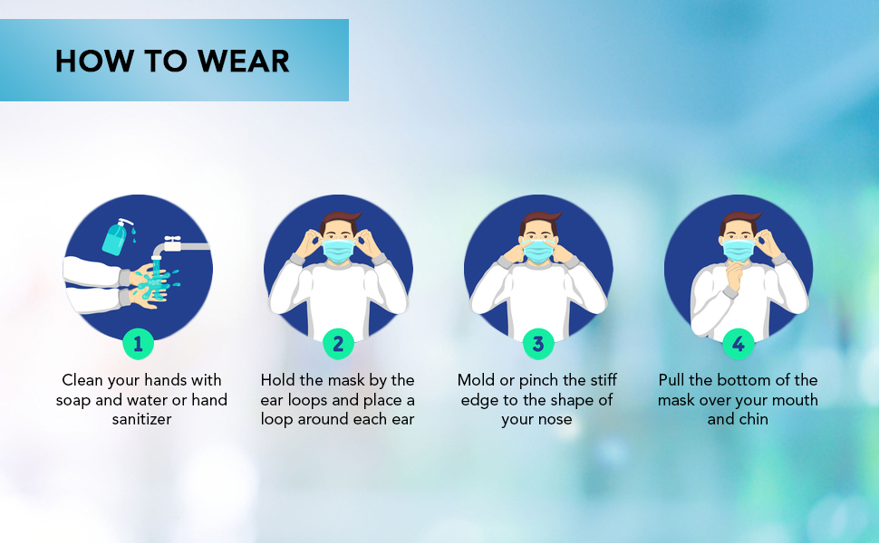wear mask to maintaing your health