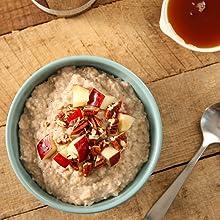 Escuminac maple syrup oatmeal