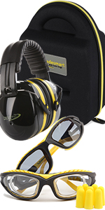 2 pack with yellow safety glasses