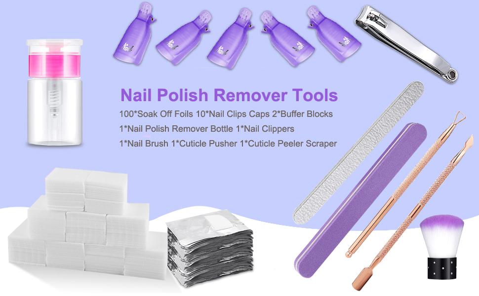nail polish remover kit
