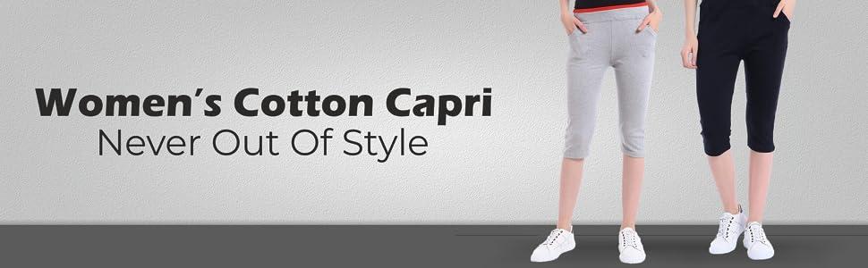 B08DFVM8NT-Shararat Women's Cotton Lycra Capris   Stretchable 3/4 Women's Casual Capris- SPN FOR-1