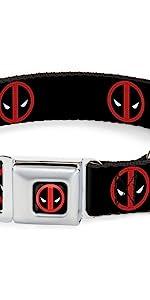 Deadpool Logo Collar