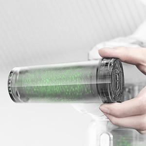 Geniales, spülfreies Filterreinigungswerkzeug
