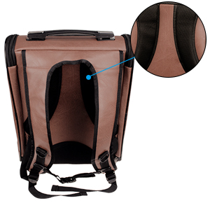 pet Cat Grooming Bag Biting & Scratching Resisted for Bathing Injecting Examining backpack