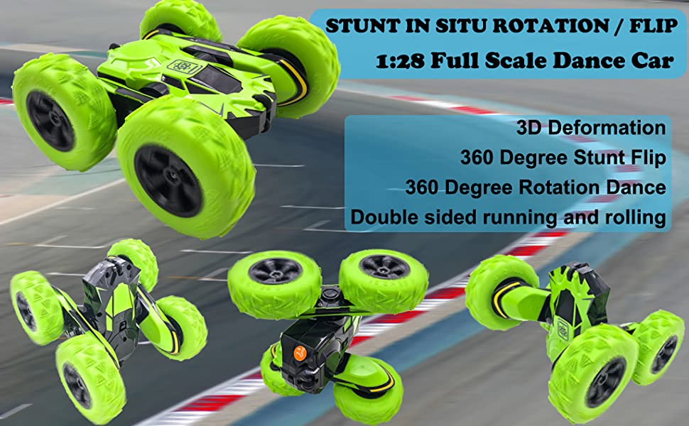 stunt car birthday gift present