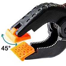 Adjustable Orange Pads,spring clip