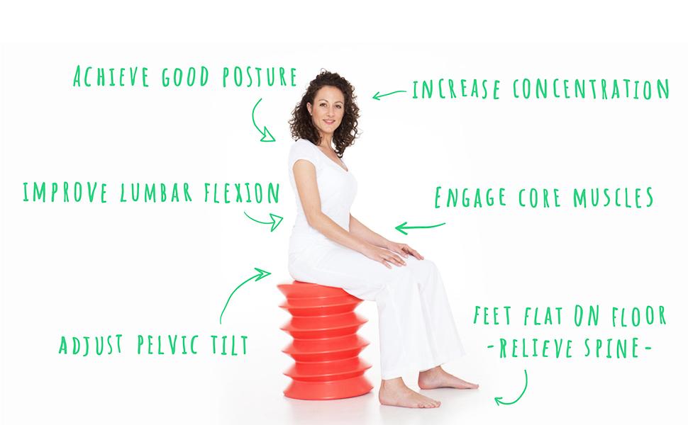 ergo ergonomic seating flexible