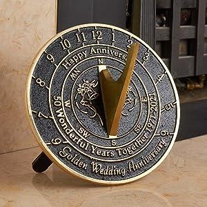 50th Wedding Anniversary gift ornament