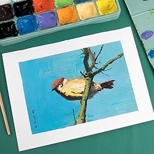 watercolor gouache