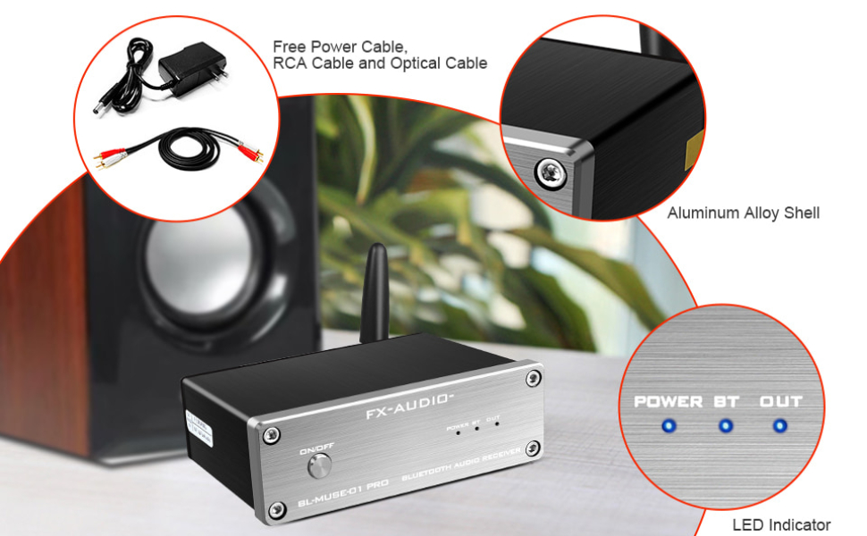 fx audio bluetooth receivers